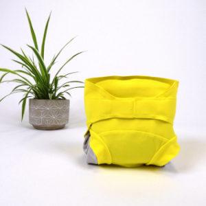 couche lavable jaune hamac