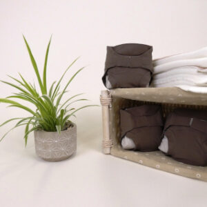 couches lavables taupe hamac