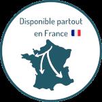 Disponible partout en France