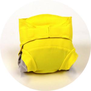 couche lavable hamac jaune